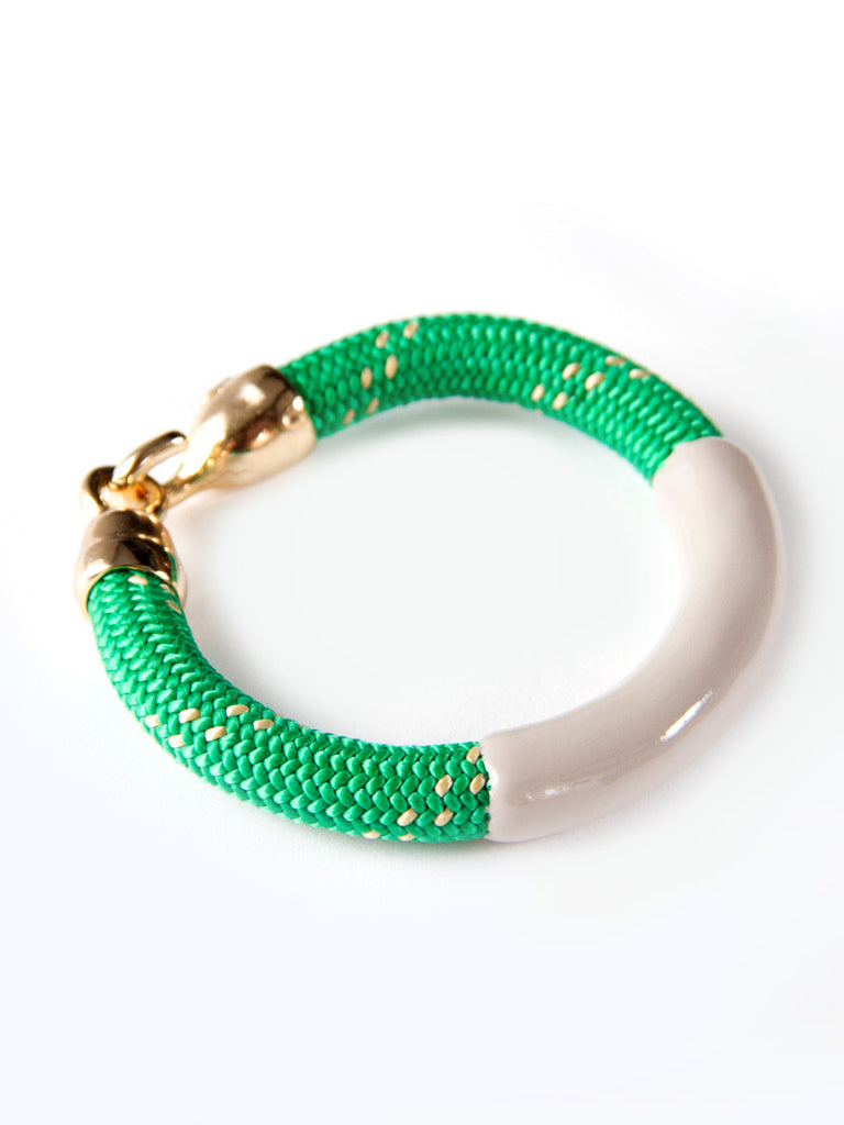 Kelly Green Annabelle Bracelet by OGJM