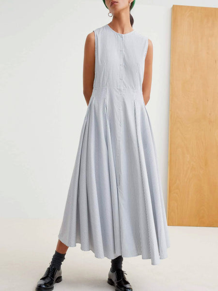 Reflect Dress - Stripe by Kowtow