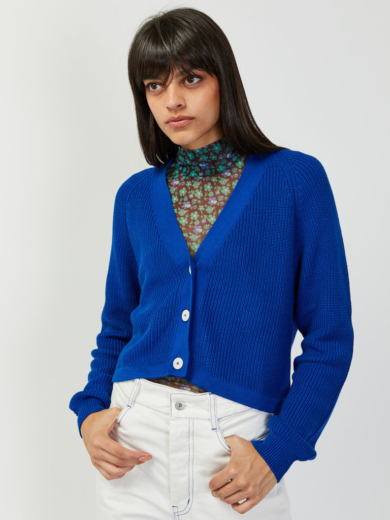 Primary Cardigan - Cobalt by Kowtow