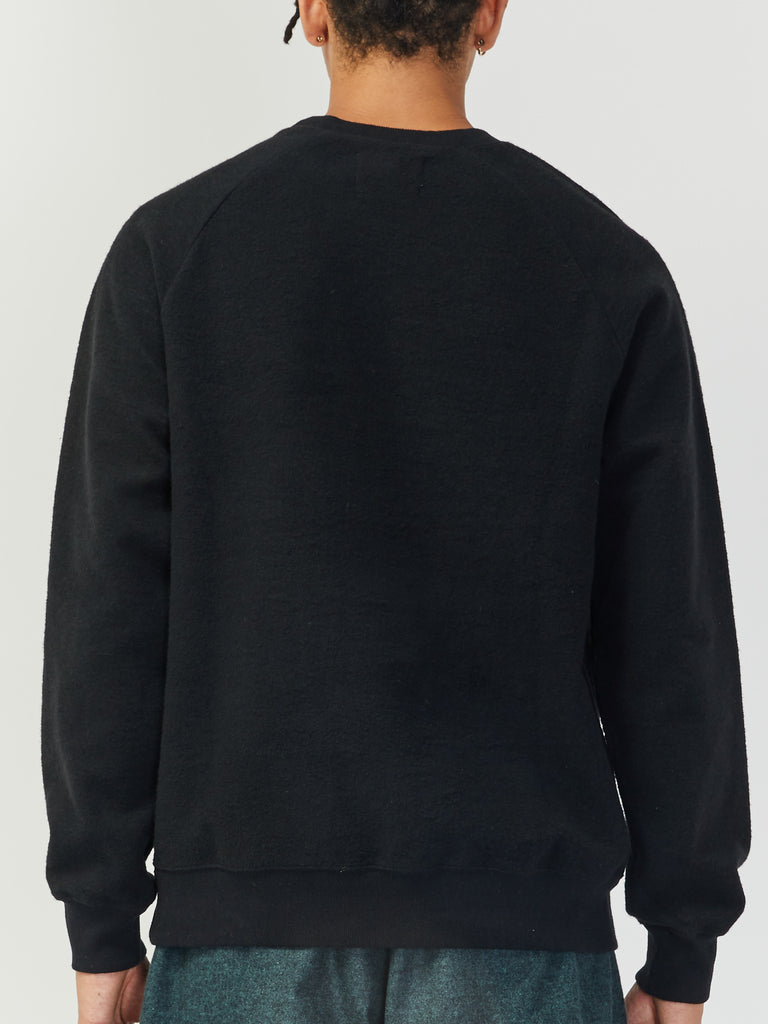 Cunha Recycled Sweatshirt - Black by La Paz
