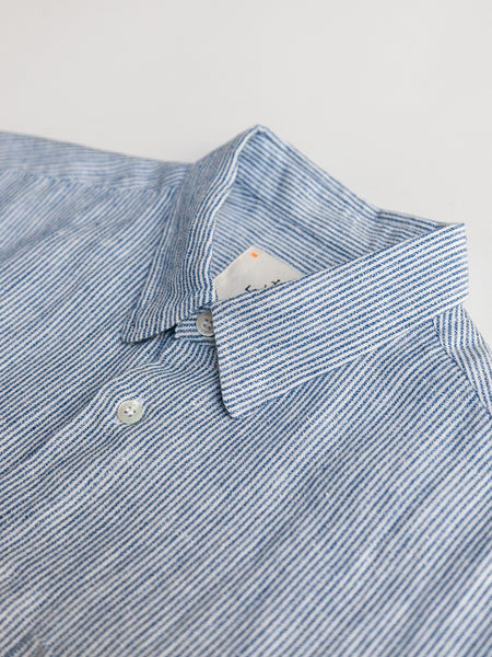 Ribiero Shirt - Blue Stripes by La Paz