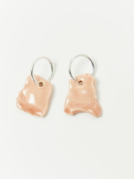 Bits Hoop Earrings - Rose by Levens