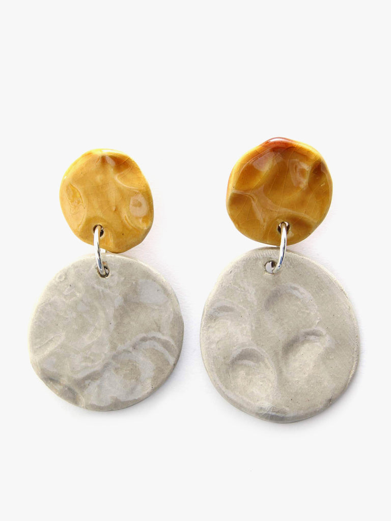 Lune Gris Earrings by Levens