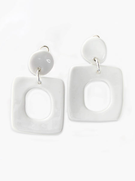 XL Square Earrings by Levens