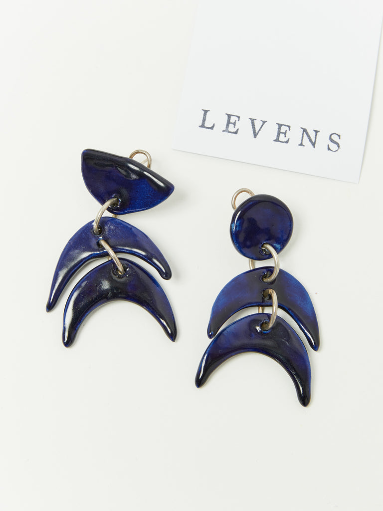 Figurine Cobalto Earrings by Levens