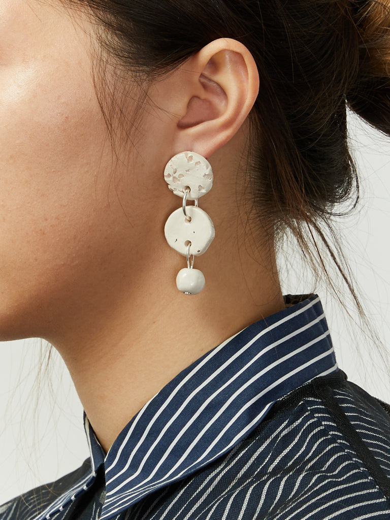 Two Circles Earrings by Levens