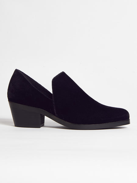 Intentionally Blank - Meds Loafer Velvet Black by Intentionally Blank