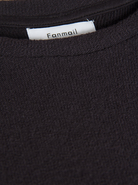 Raglan Tee - Black by Fanmail