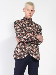 Floral Army Shirt