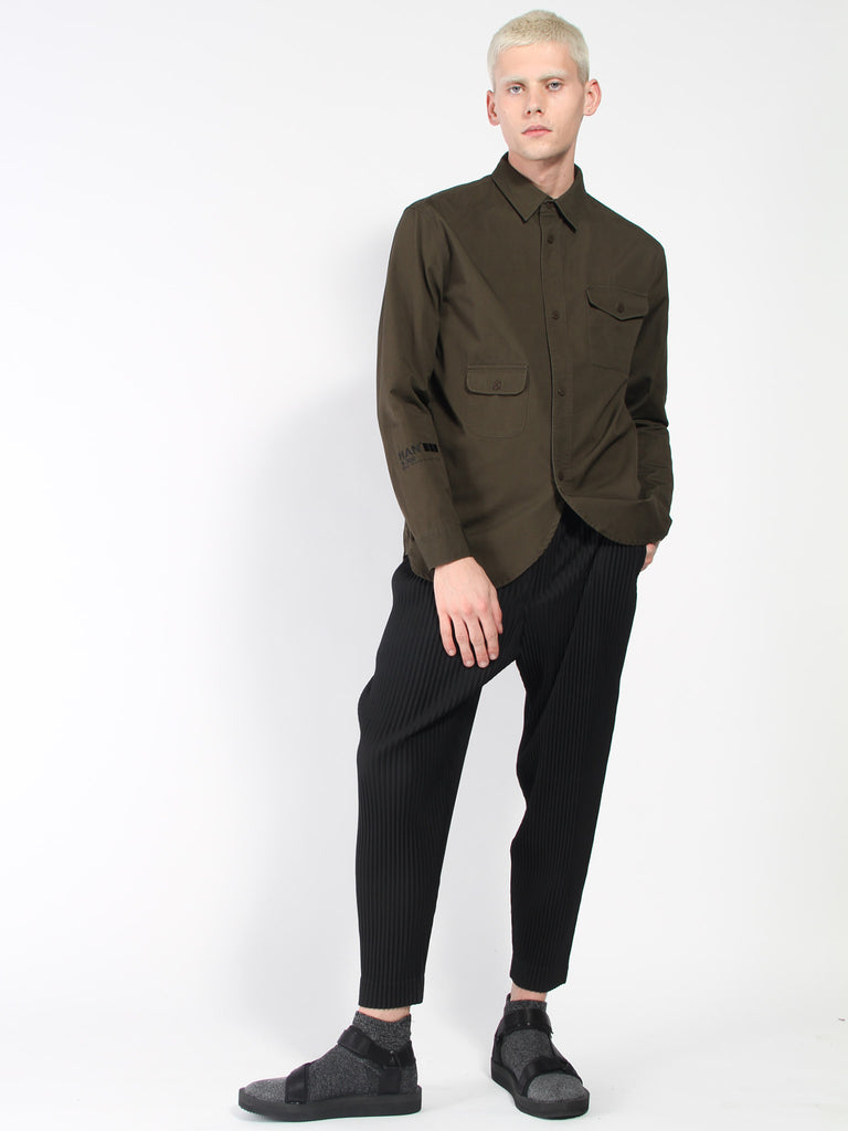 Straight Leg Pant - Black by Issey Miyake Homme Plisse