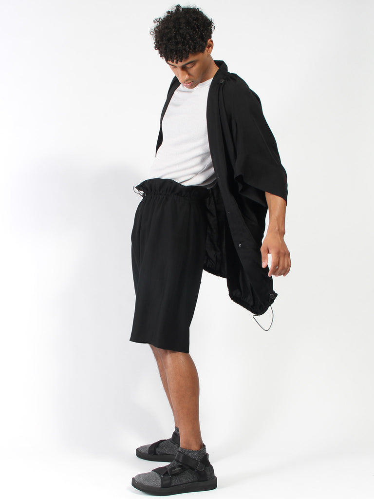 Draped Shorts by Anntian