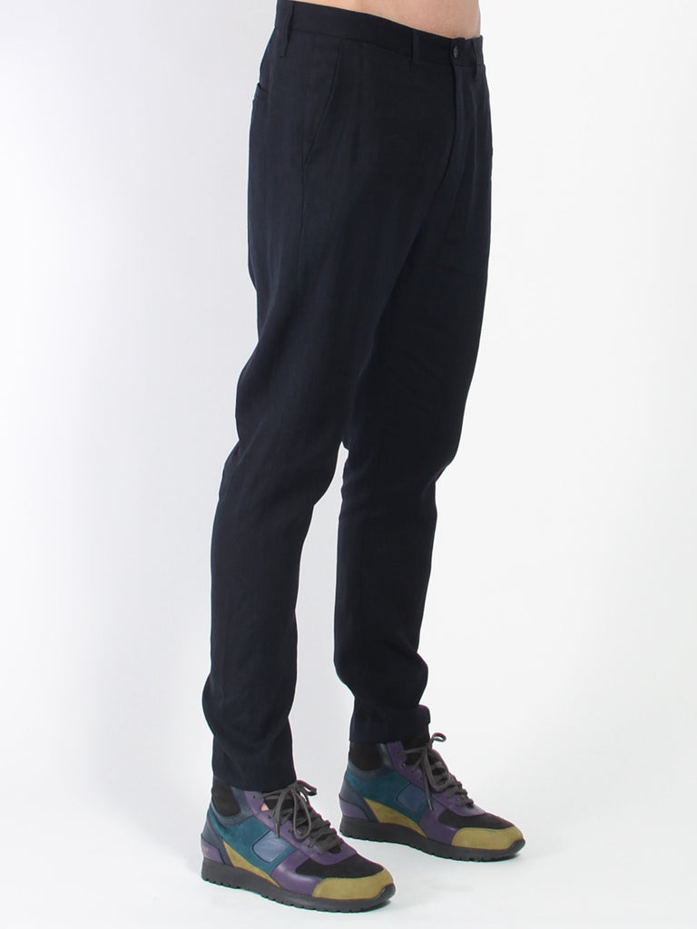 Kris Suit Trouser - Navy by Hope