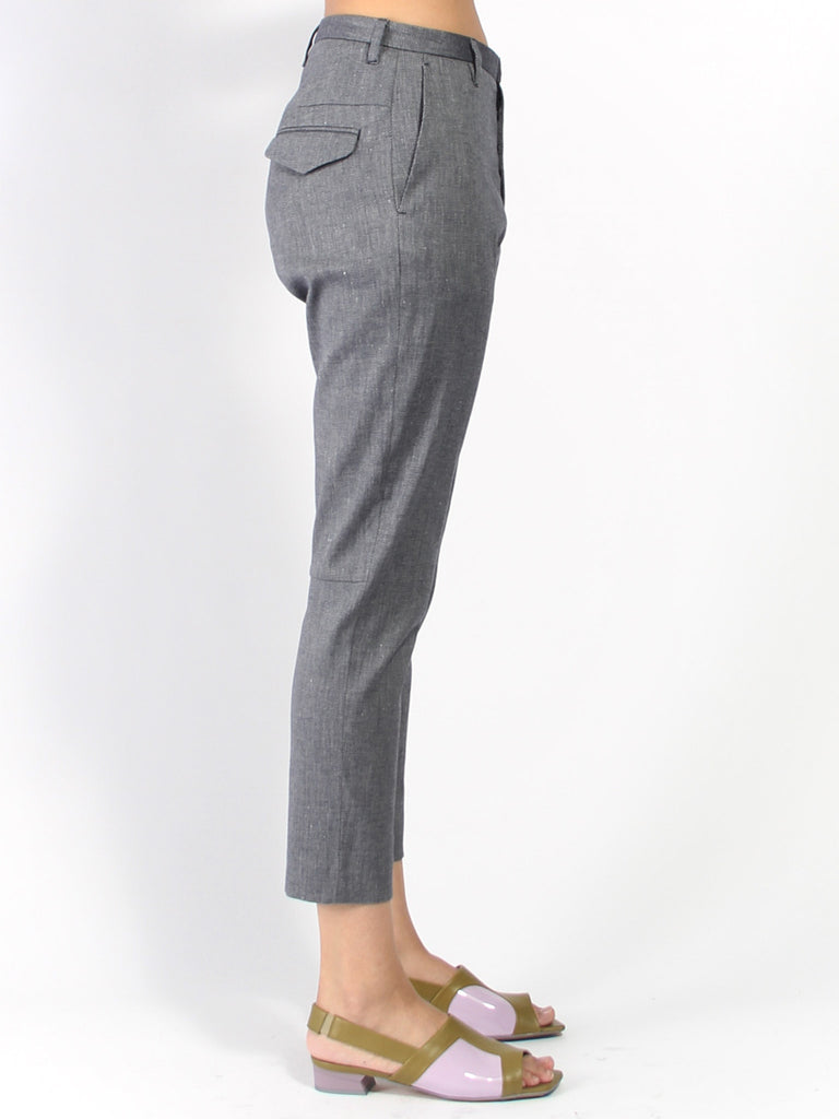Krissy Trouser - Twill Navy by Hope