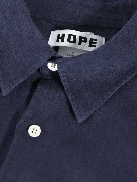 Air Clean Shirt - Navy by Hope