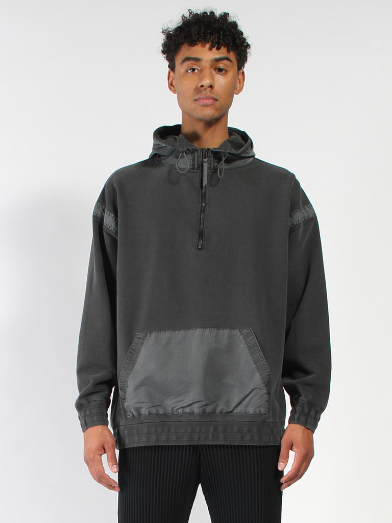 The Dhaka Zipper Hoodie by Robert Geller