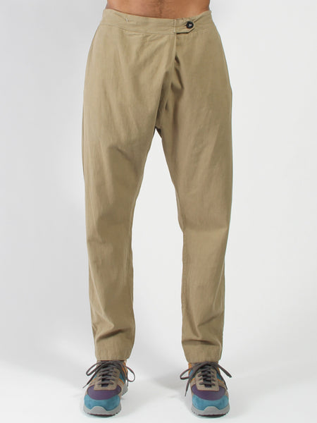 Souk Pant Hemp - Olive by seeker