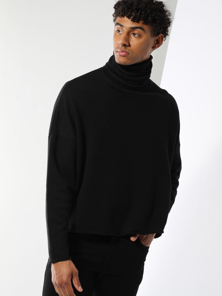 Infinity Turtleneck - Black by seeker