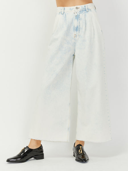 Acid Wide Leg Jean by MM6 Maison Margiela