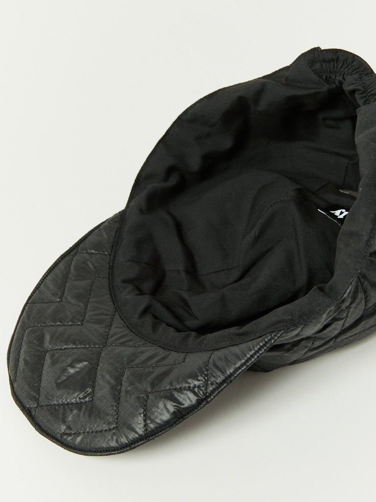 Quilted Cap - Black by Monitaly