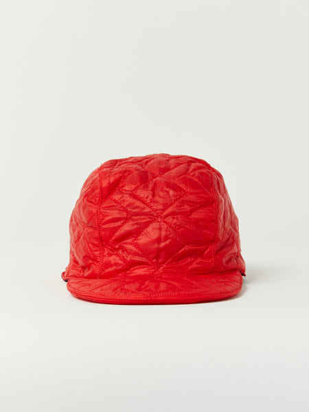 Quilted Cap - Red by Monitaly