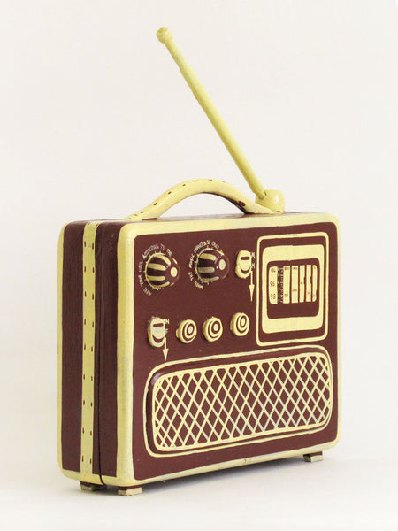 Small Radio Box by Mr Somebody + Mr Nobody