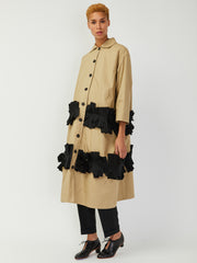 Long Jacket with Pleats