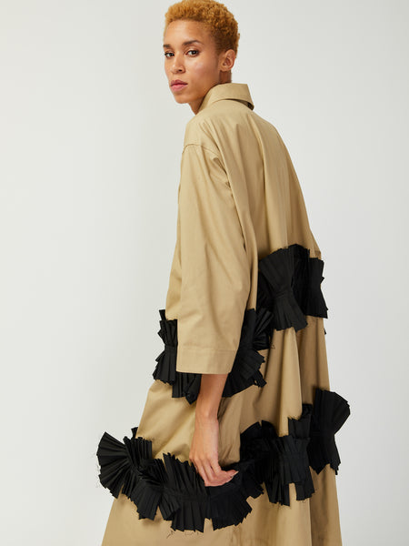 Long Jacket with Pleats by Nancy Stella Soto
