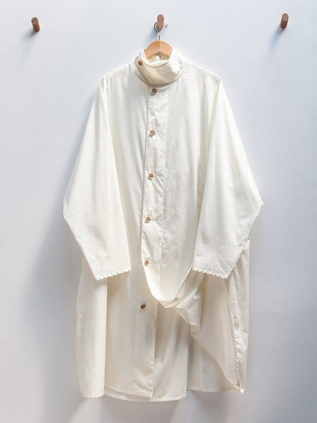 Coren Light Poplin Jacket - Off White by Nehera