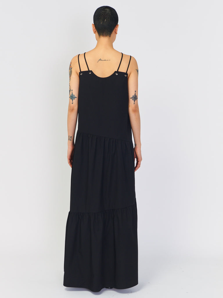 Maxi Gathered Front Dress by Nomia