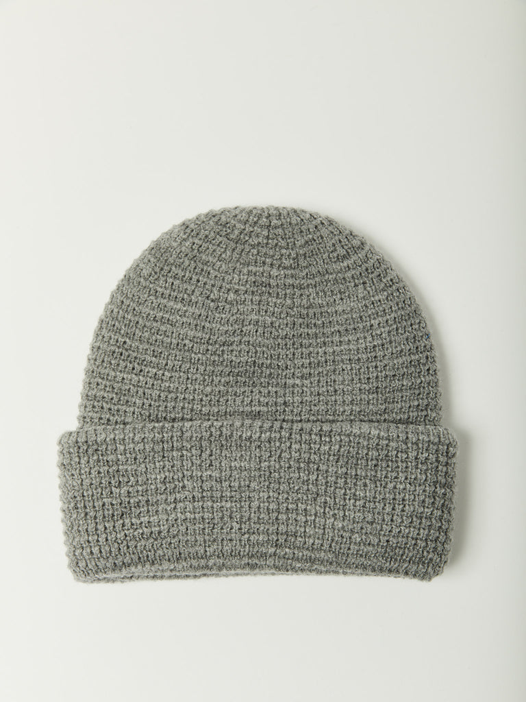 Waffle Beanie - Heather Grey by paa