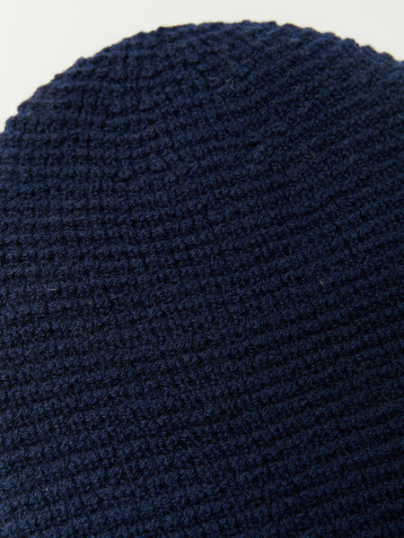 Waffle Beanie - Navy by paa