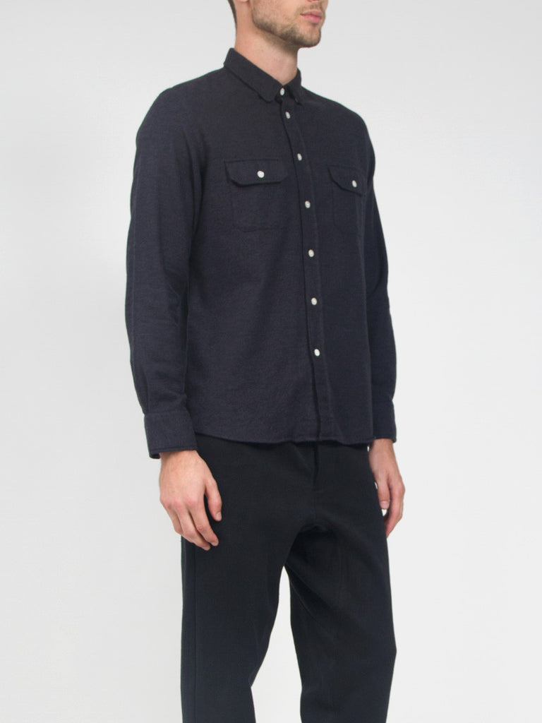 Pacheco Shirt Dark Grey by La Paz