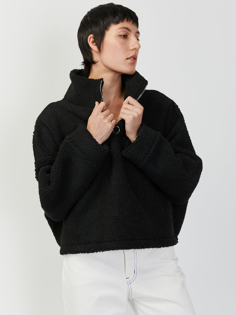 The Chad Zip Sweater by Priory