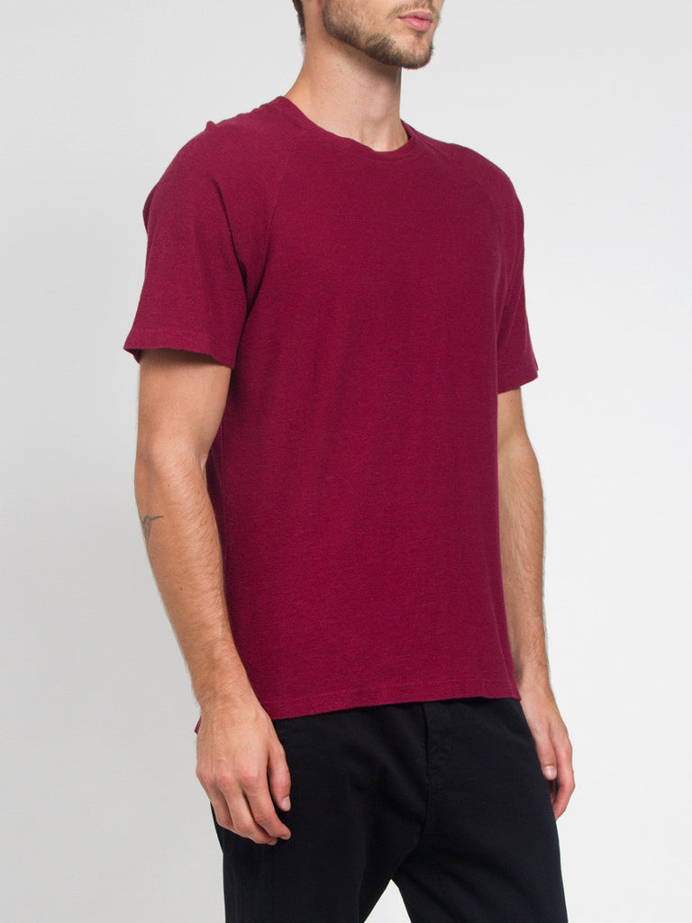 Raglan Tee Red by Fanmail