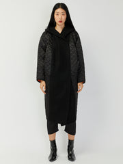 Big Xiong Coat - Black Quilted