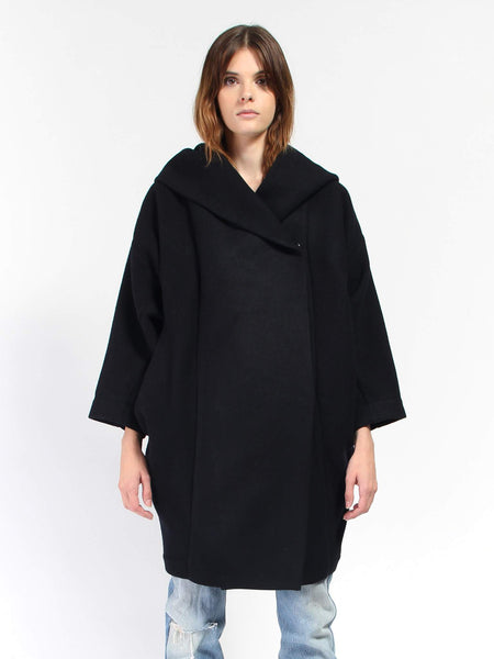 Xiong Hooded Coat - Night by Reality Studio