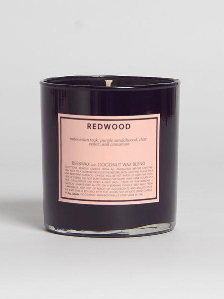 Redwood Candle by Boy Smells