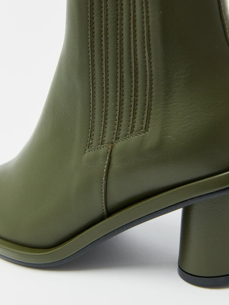 Oblique Square Chelsea Boot by Reike Nen