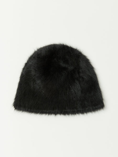 Cuffia Short Beanie - Black by Reinhard Plank