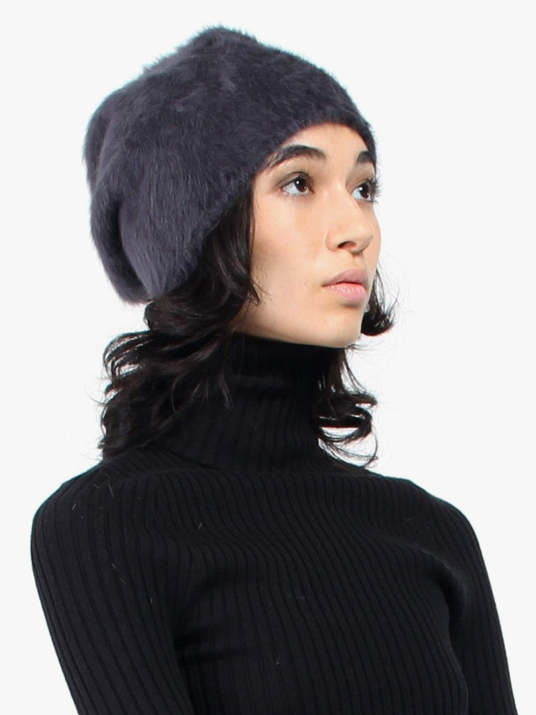 Cuffia Long Beanie - Antracite by Reinhard Plank