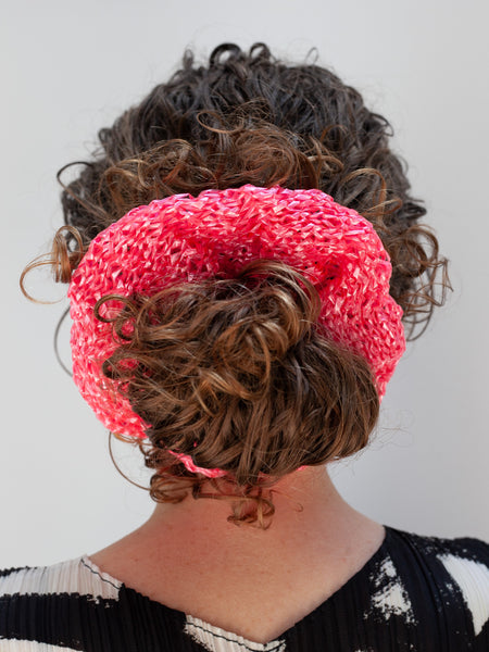 Nylon Scrunchie - Pink by Reinhard Plank