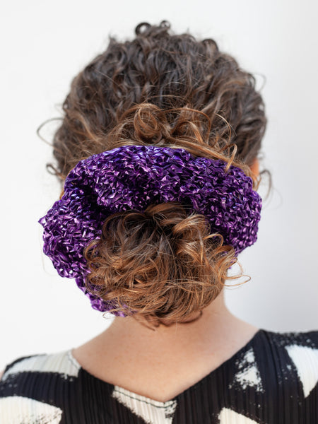 Nylon Scrunchie - Purple by Reinhard Plank