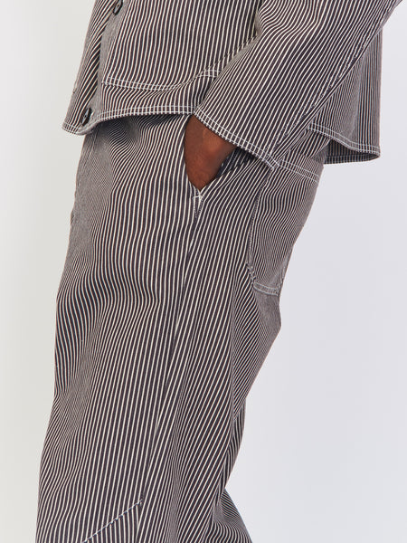 Striped Tapered Pant by Robert Geller
