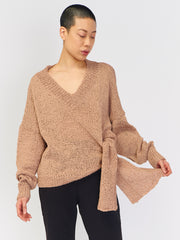 Anisah Sweater - Faded Terracotta