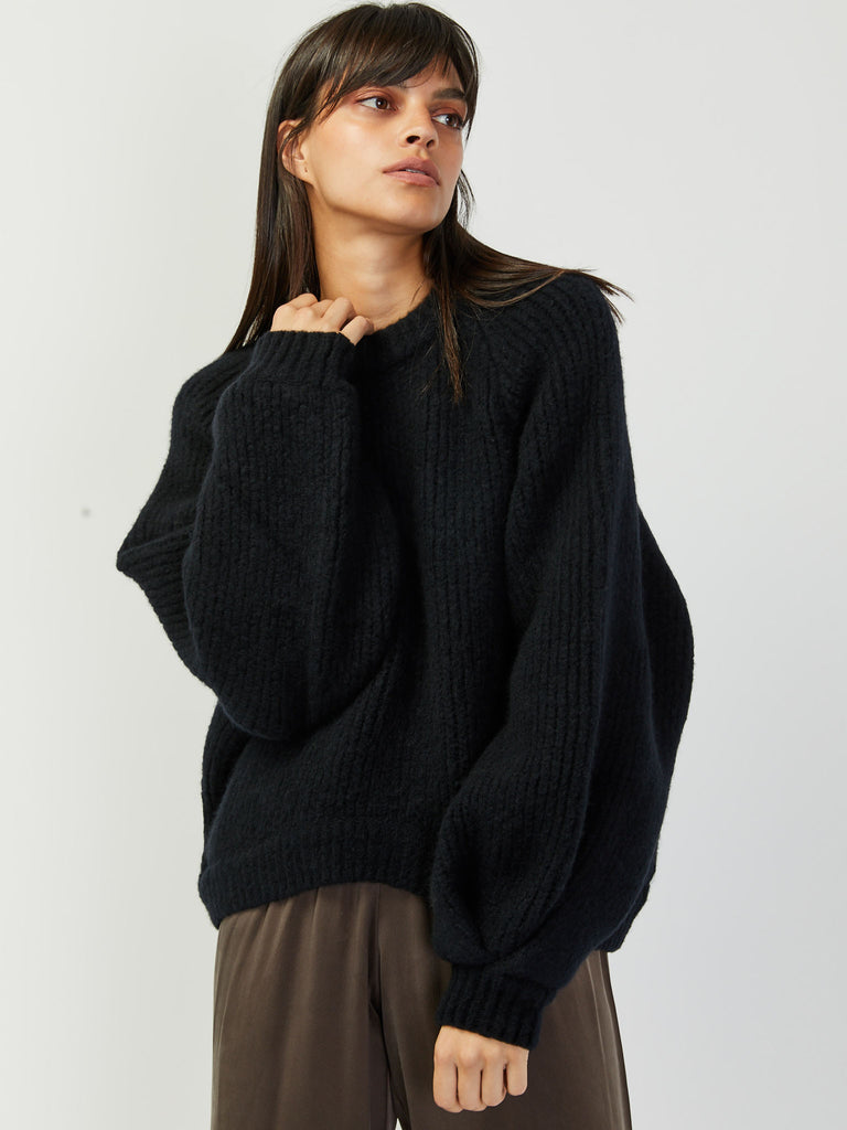 Onella Sweater - Black by Rodebjer