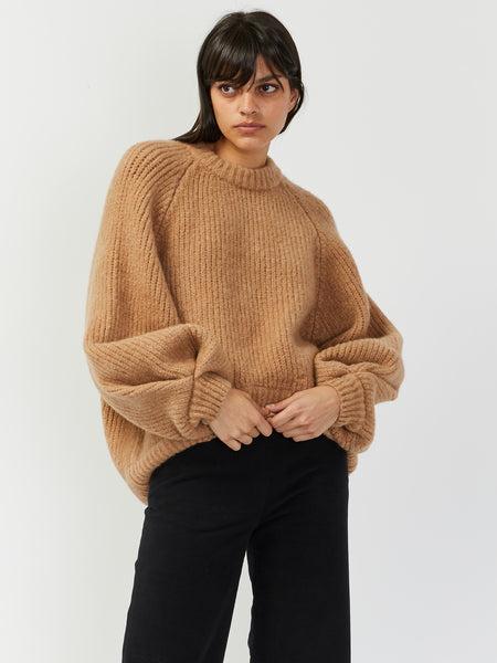 Onella Sweater - Camel by Rodebjer