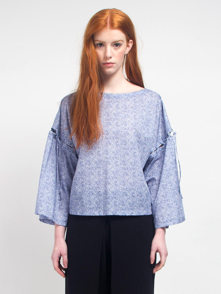 Rodebjer - Petrina Flower Top by Rodebjer