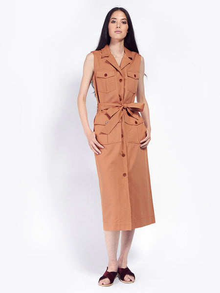 Junebug Twill Dress by Rodebjer