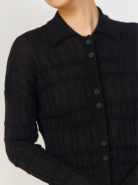 Reflet Cardigan - Black by Rus