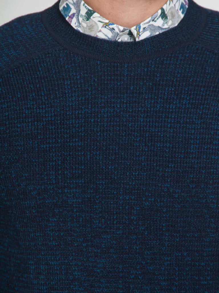 Saddle Shoulder Sweater by Ddugoff